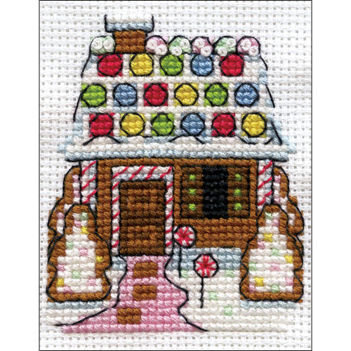 Design Works Counted Cross Stitch Kit - Gingerbread House