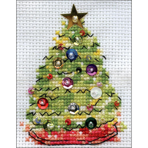 Design Works Counted Cross Stitch Kit - Christmas Tree