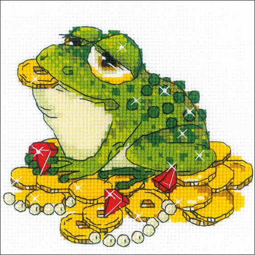 RIOLIS Counted Cross Stitch Kit - For Prosperity