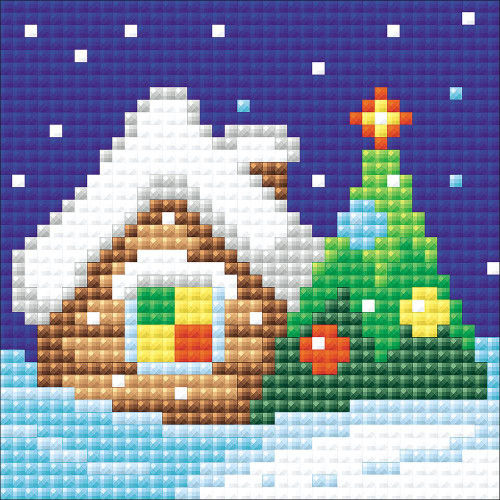 RIOLIS Diamond Mosaic Embroidery Kit - Christmas Eve