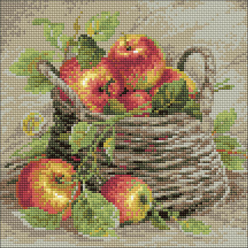 RIOLIS Diamond Mosaic Embroidery Kit - Ripe Apples