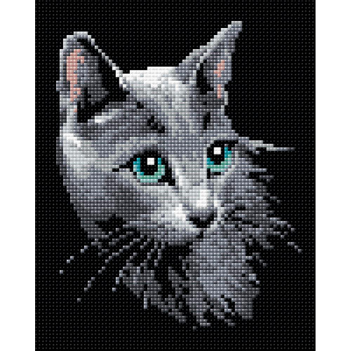 RIOLIS Diamond Mosaic Embroidery Kit - Russian Blue