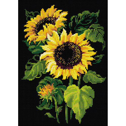 RIOLIS Diamond Mosaic Embroidery Kit - Sunflowers