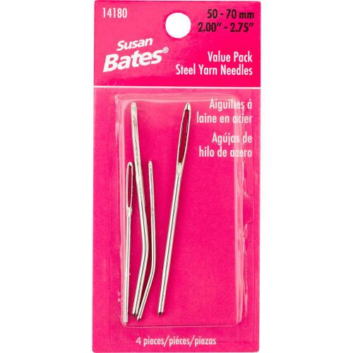 Susan Bates Steel Yarn Needles Value Pack