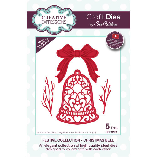 Creative Expressions Festive Craft Dies - Christmas Bell