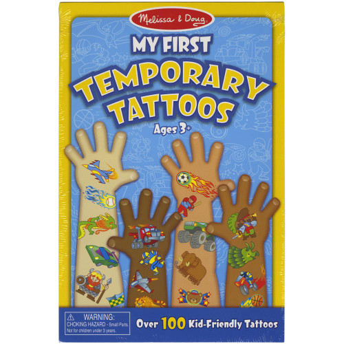 My First Temporary Tattoos - Boy