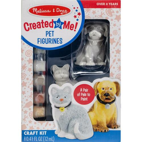 Decorate-Your-Own Figurines Kit - Pet