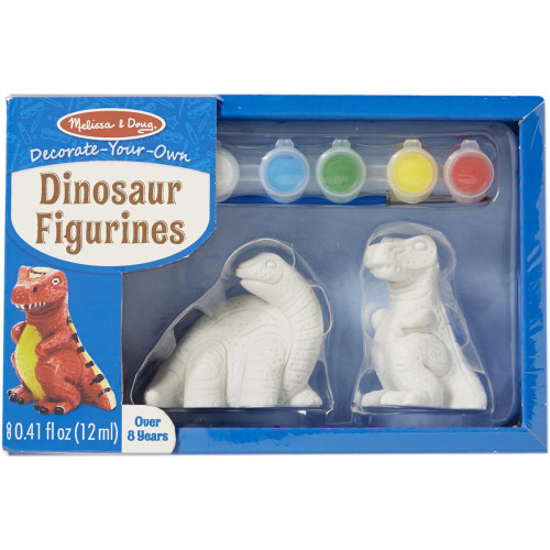 Decorate-Your-Own Figurines Kit - Dinosaur