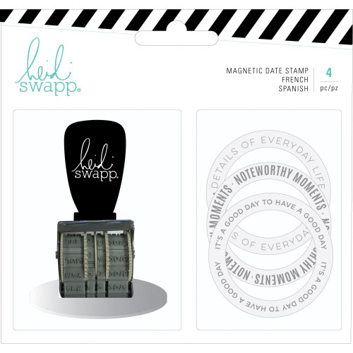 Memory Planner Magnetic Stamp - Color Fresh, Date
