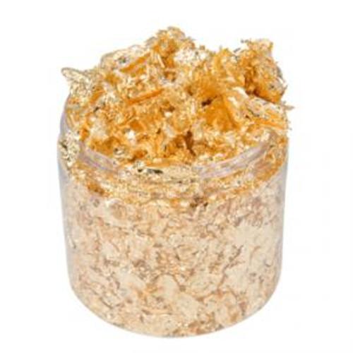 Cosmic Shimmer Gilding Flakes 200ml - Golden Jewel