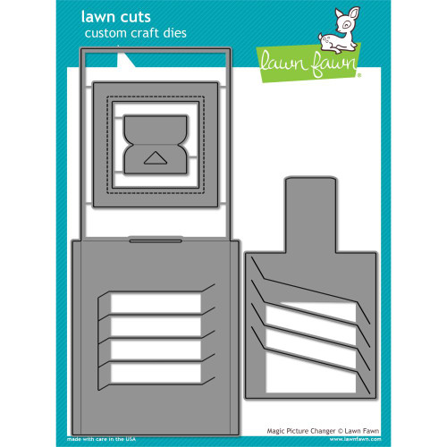 Lawn Fawn Custom Craft Die - Magic Picture Changer