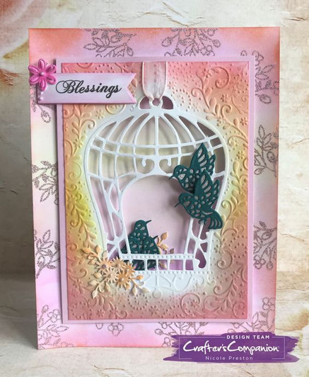 Crafter S Companion 3d Embossing Folder Christmas Carol Colorful Impressions