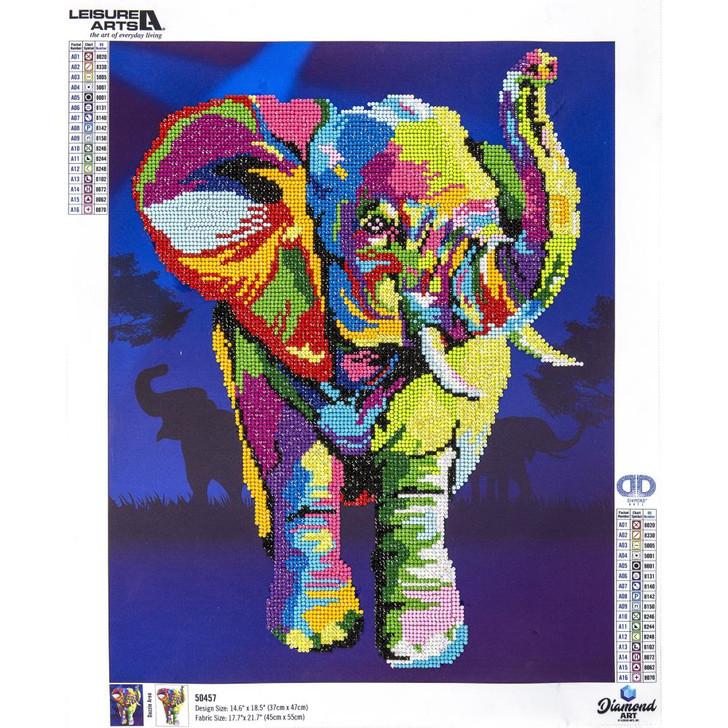 Diamond Art Advanced Kit - Elephant