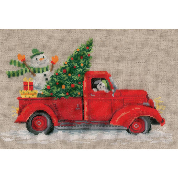 Vervaco Counted Cross Stitch Kit - Christmas Truck