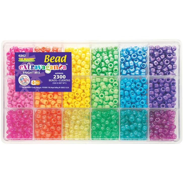 The Beadery Brights Bead Extravaganza Bead Box Kit