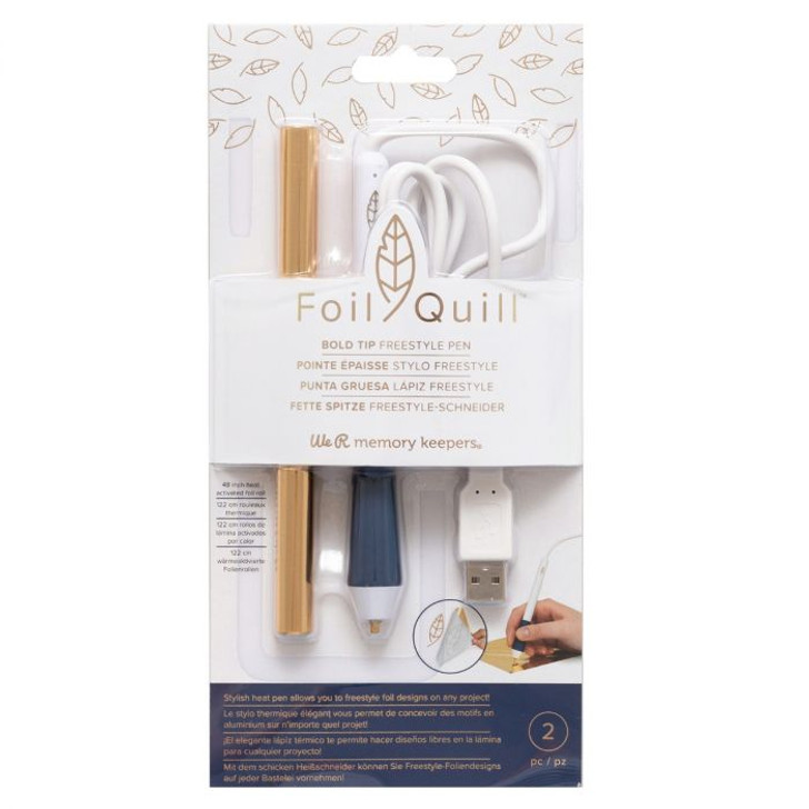 We R Memory Keepers Foil Quill Freestyle Pen - Bold