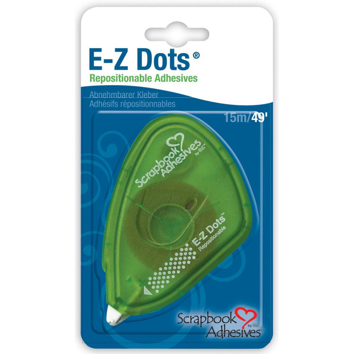 Scrapbook Adhesives E-Z Dots Repositionable Adhesive 49ft.