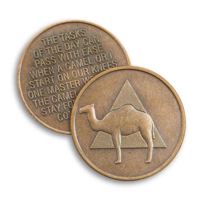 "Camel Bronze ""AA"" Medallion"