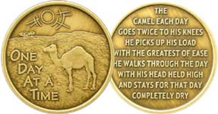 "ODAT Camel Poem Bronze ""AA"" Medallion"