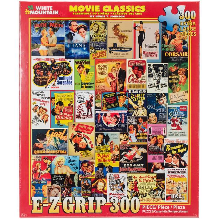 White Mountain 300 Pc. Jigsaw Puzzle - Movie Classics