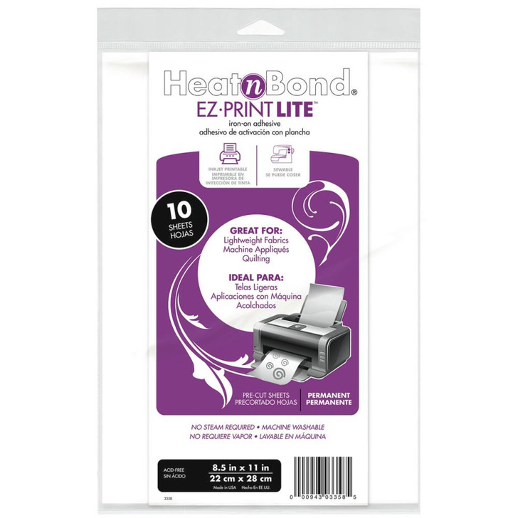 Thermoweb HeatnBond EZ-Print Lite Iron-On Adhesive