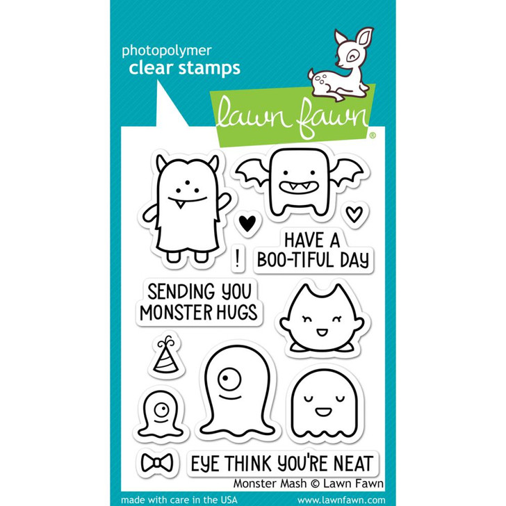 Lawn Fawn Clear Stamps - Monster Mash