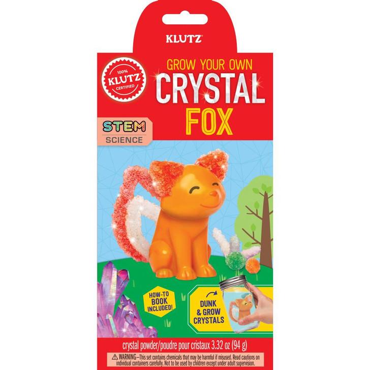 Klutz Grow Your Own Crystal Animal Kit - Fox