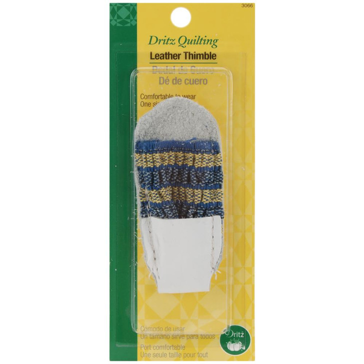 Dritz Quilting Leather Thimble