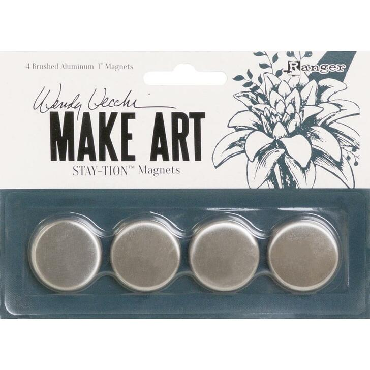 Wendy Vecchi MAKE ART Stay-tion Replacement Magnets 4/Pkg
