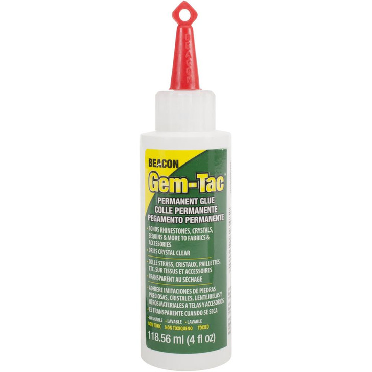 Beacon Gem-Tac Permanent Adhesive 4oz.
