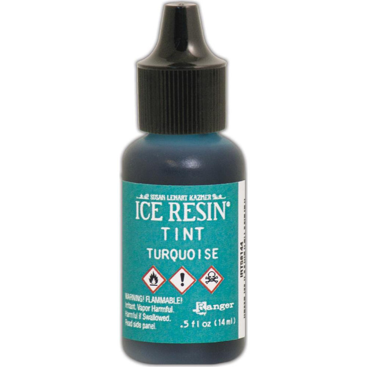 Ranger Ice Resin Tints .5oz - Turquoise