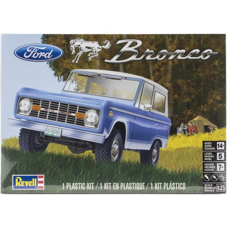 Revell Plastic Model Kit - Ford Bronco 1:25