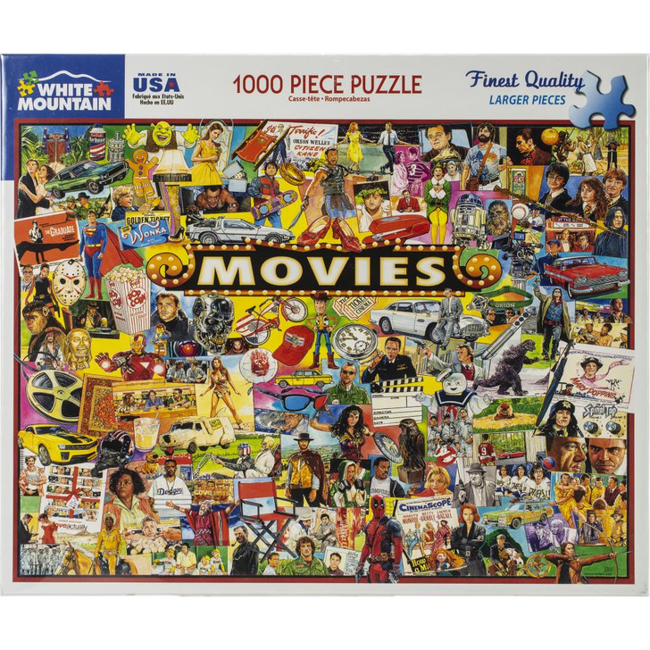 White Mountain 1000 Pc. Jigsaw Puzzle - Movies