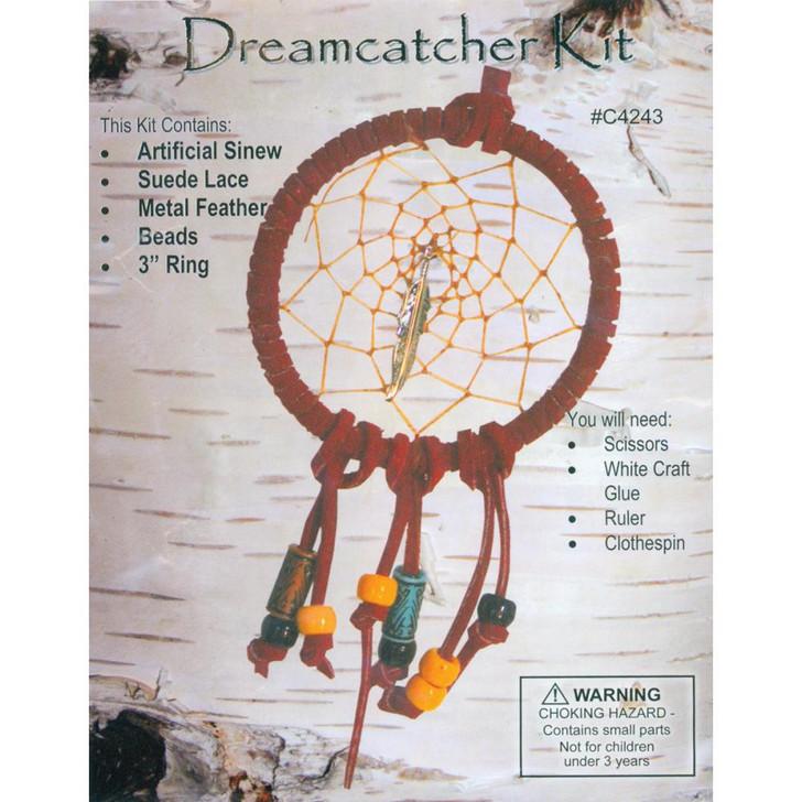 "Leathercraft Kit - Mini Dreamcatcher 3"""
