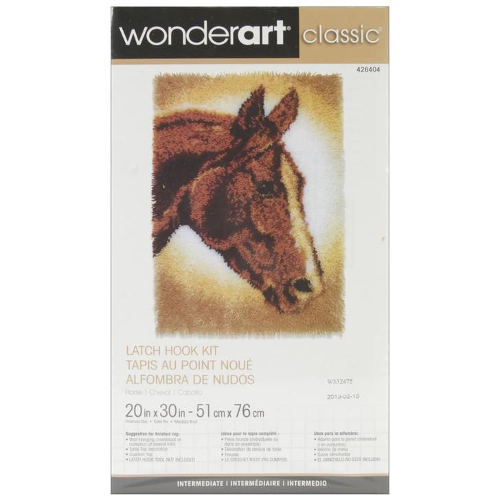 Caron Wonderart Classic Latch Hook Kit - Horse