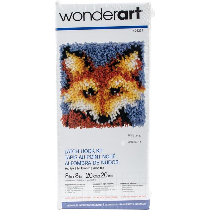 Caron Wonderart Latch Hook Kit - Mr. Fox