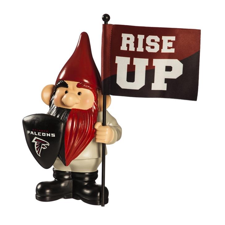 Team Flag Holder Gnome - Atlanta Falcons
