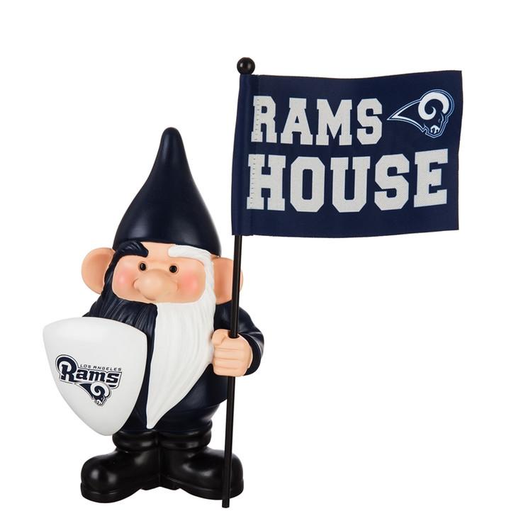 Team Flag Holder Gnome - Los Angeles Rams