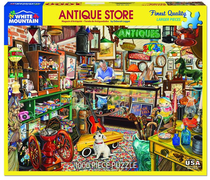 White Mountain 1000 Pc. Jigsaw Puzzle - Antique Store