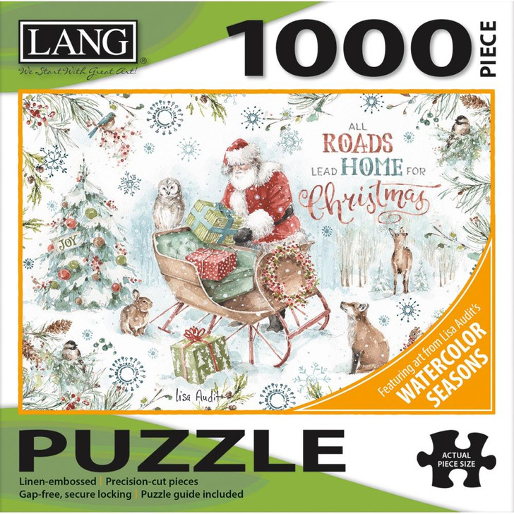 Lang Jigsaw Puzzle 1000 Pc. - Magical Holiday