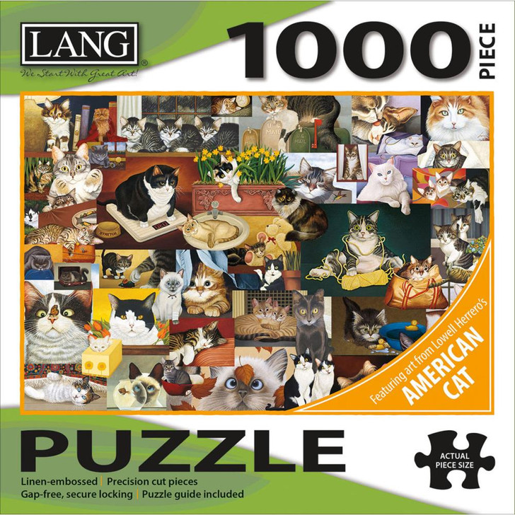 Lang Jigsaw Puzzle 1000 Pc. - American Cat