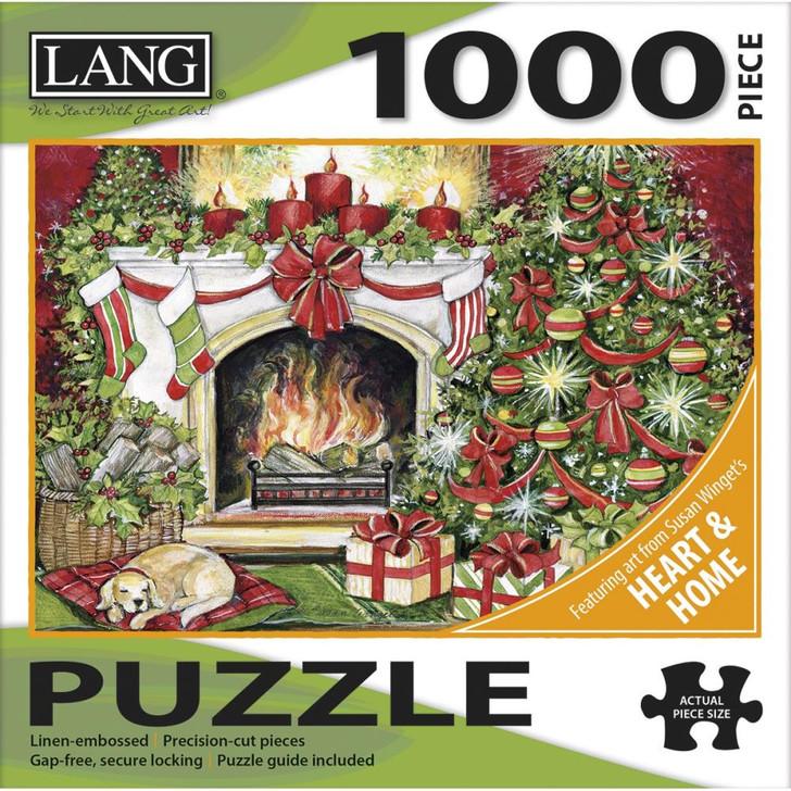Lang Jigsaw Puzzle 1000 Pc. - Christmas Warmth