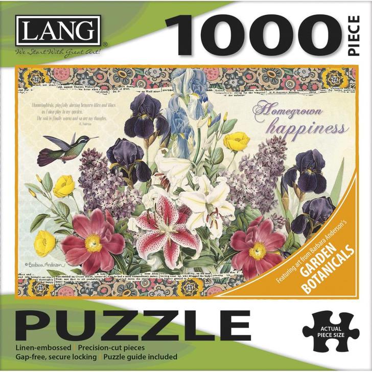 Lang Jigsaw Puzzle 1000 Pc. - Garden Botanicals