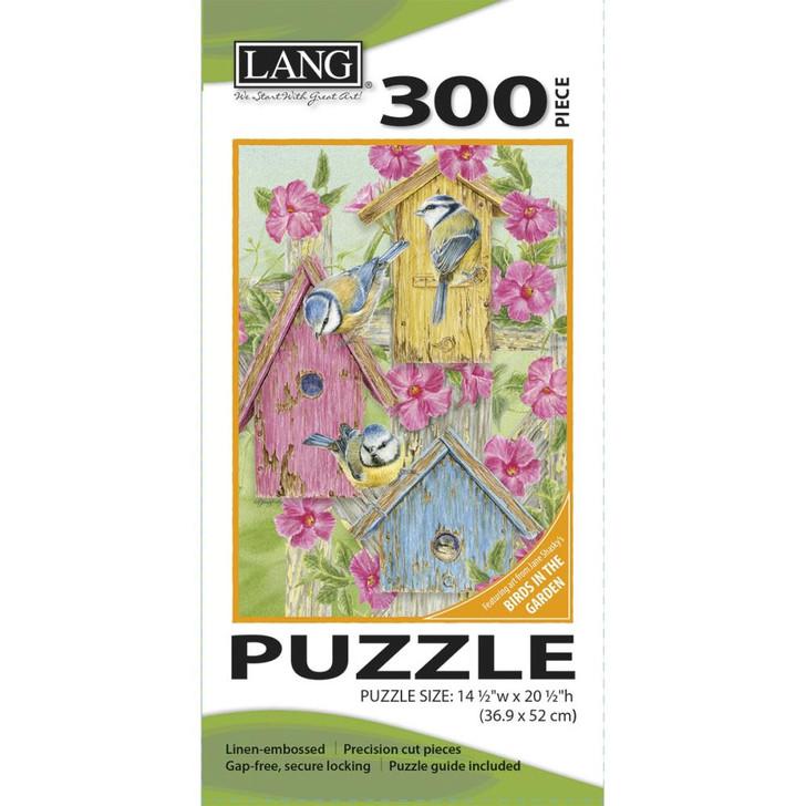 Lang Jigsaw Puzzle 300 Pc. - Birdhouse Gate