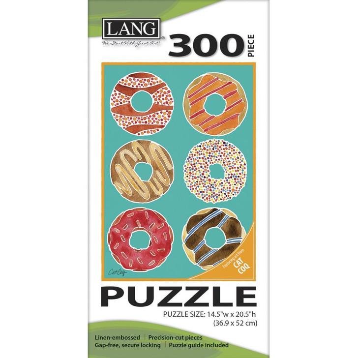 Lang Jigsaw Puzzle 300 Pc. - Donuts
