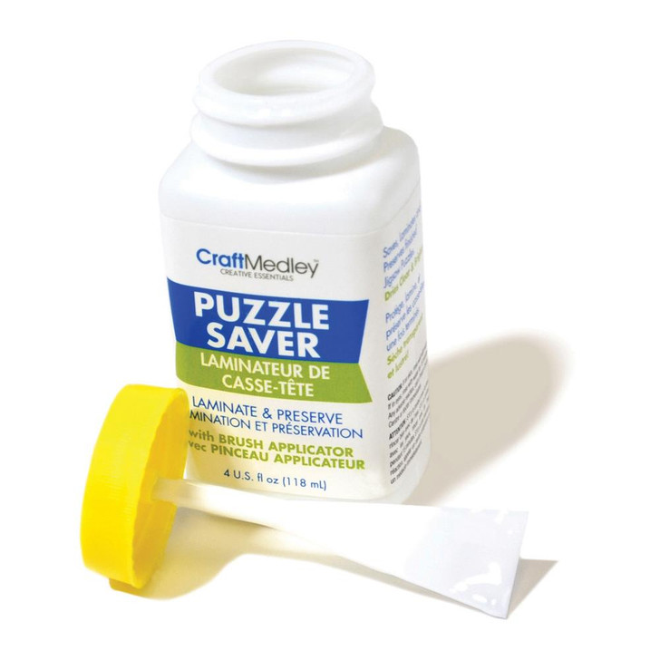 Craft Medley Puzzle Saver Glue 4oz.