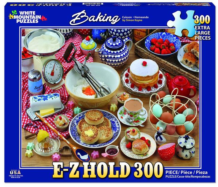 White Mountain 300 Pc. Jigsaw Puzzle - Baking