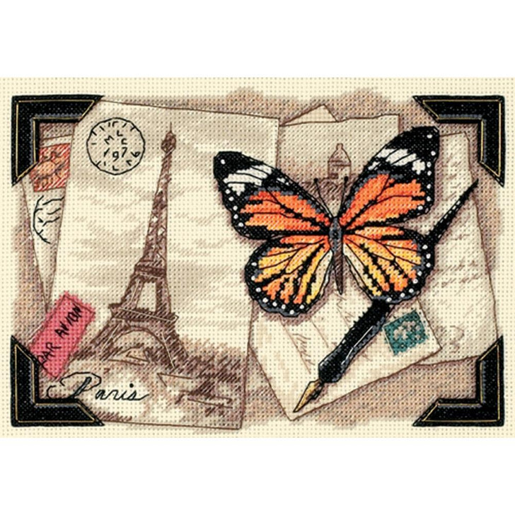 Dimensions  Counted Cross Stitch Kit - Travel Memories