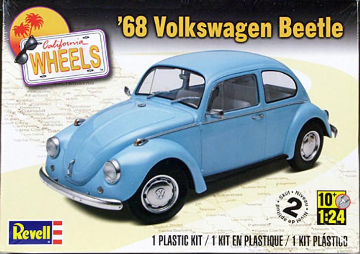 Revell Plastic Model Kit - 68 Volkswagon Beetle 1:24