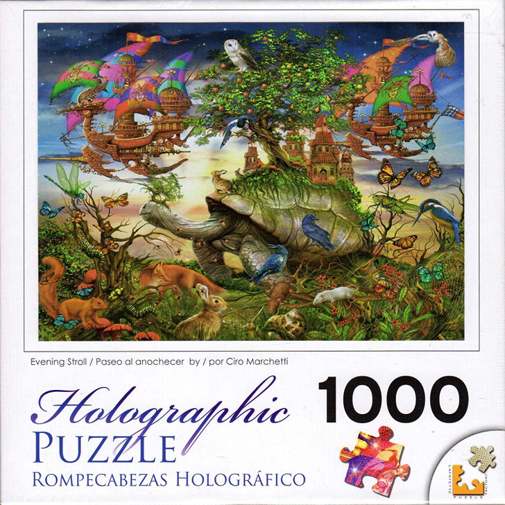 Cra-Z-Art Evening Stroll 1000 Pc. Holographic Jigsaw Puzzle